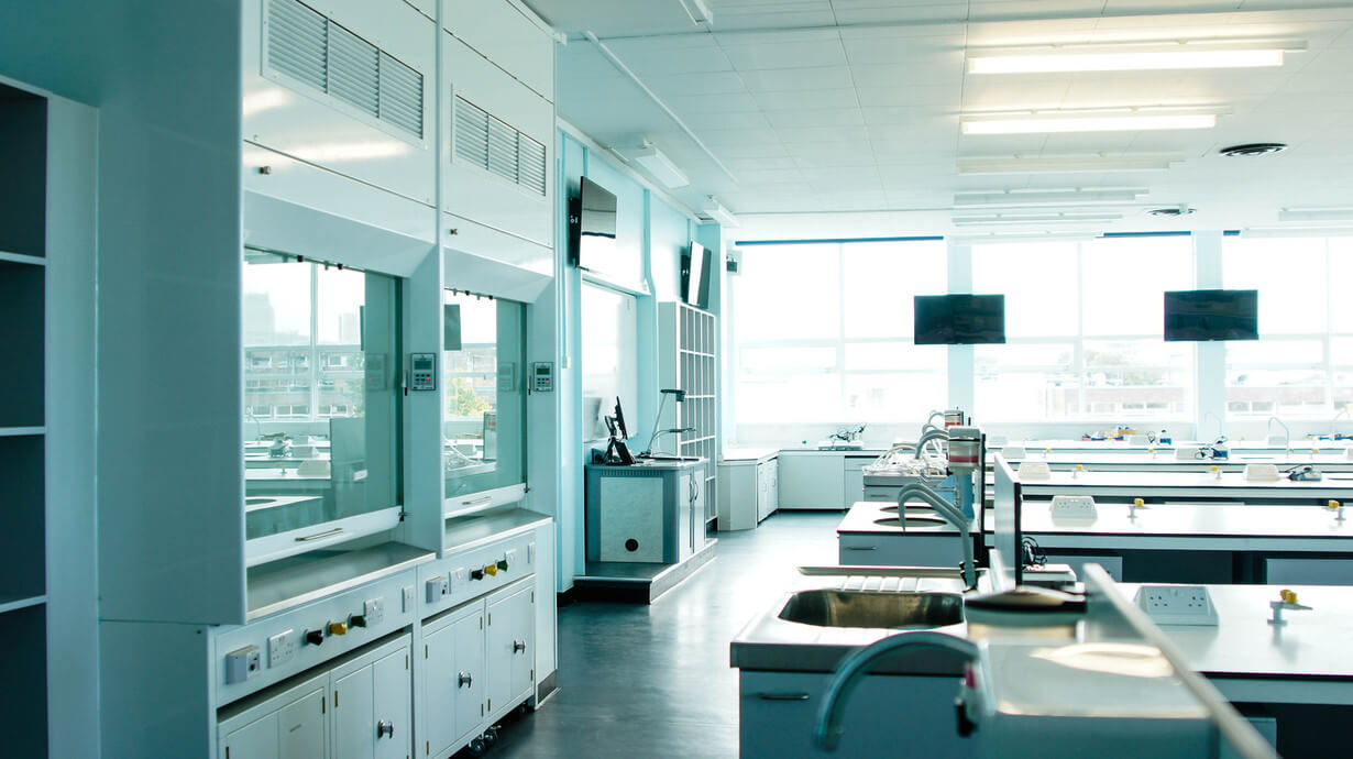 UOL life science laboratory referbishment