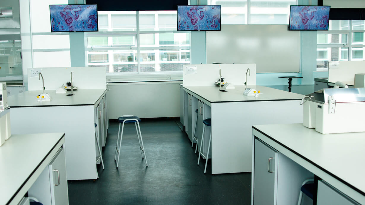 UOL life sciences laboratory refurbishment