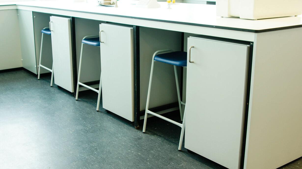 UOL Life sciences laboratory refurbishment Benching detials