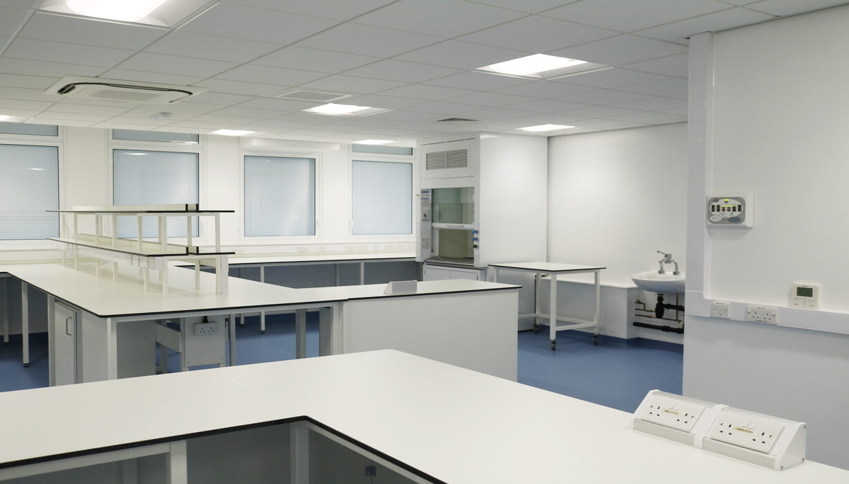 university of liverpool sherrington building refurbishment Teksol LTD