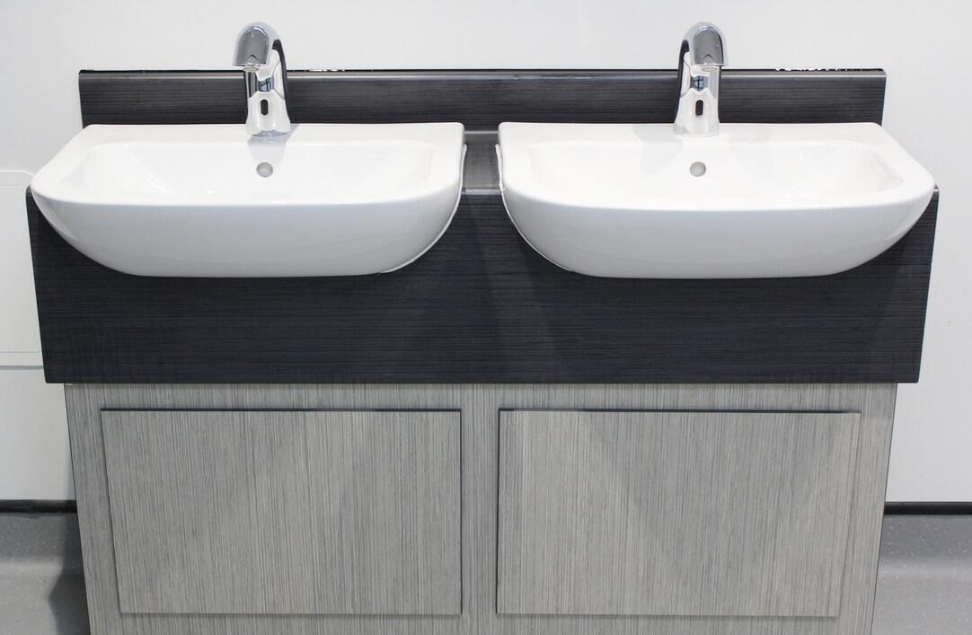 Sink in school of architecture toilets UOL by teksol ltd
