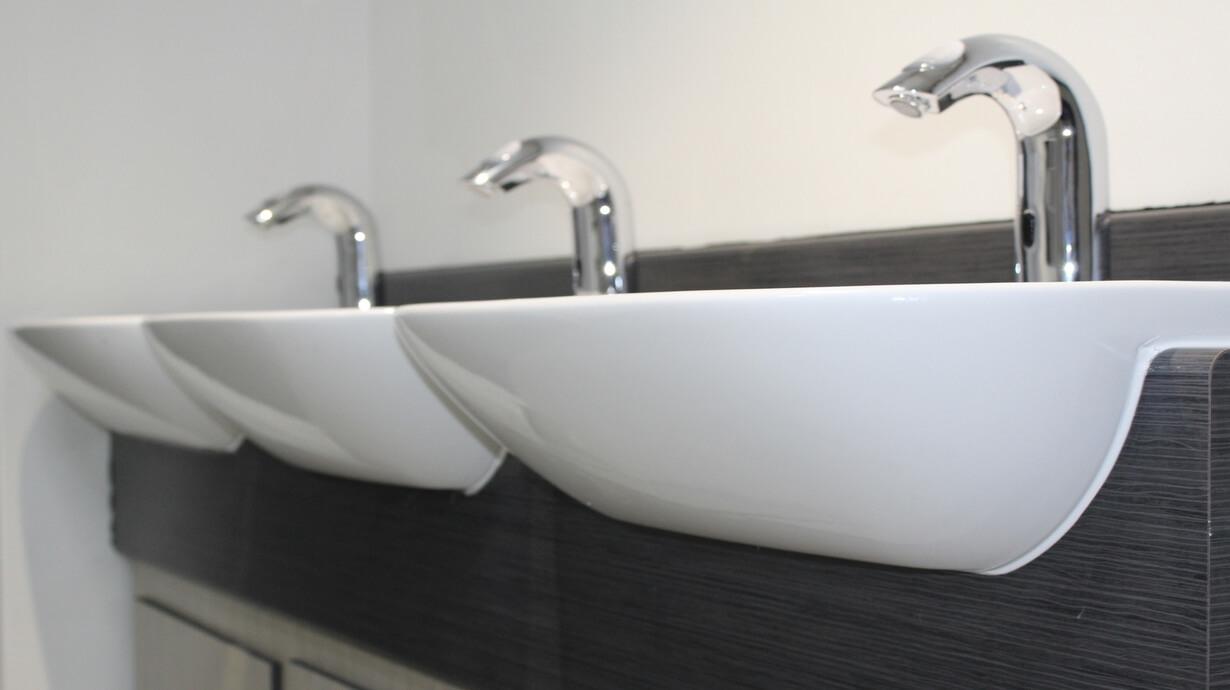 UOL school of architecture toilet refurbishment By Teksol Ltd